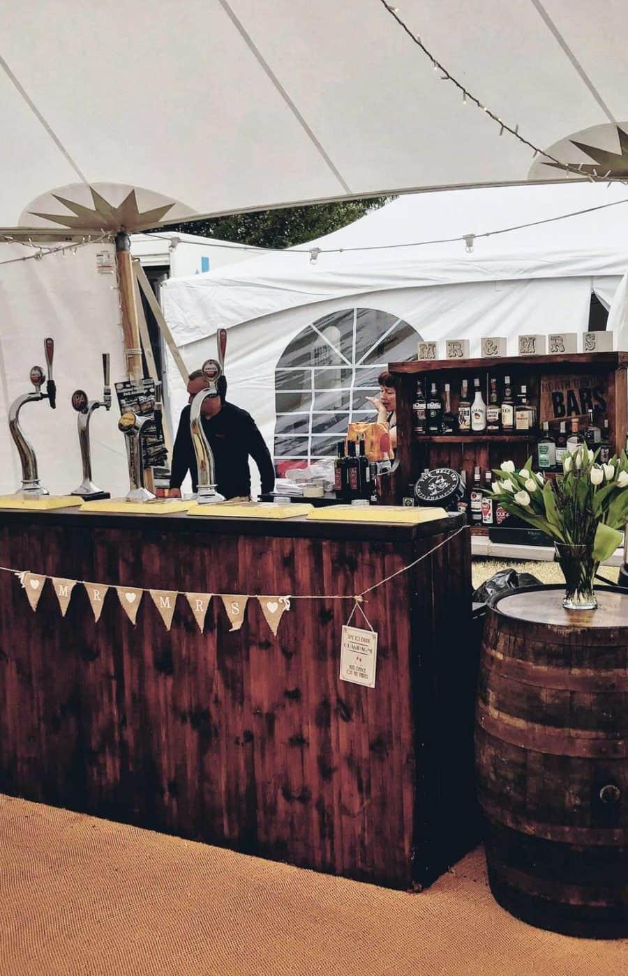 Bar hire North Devon